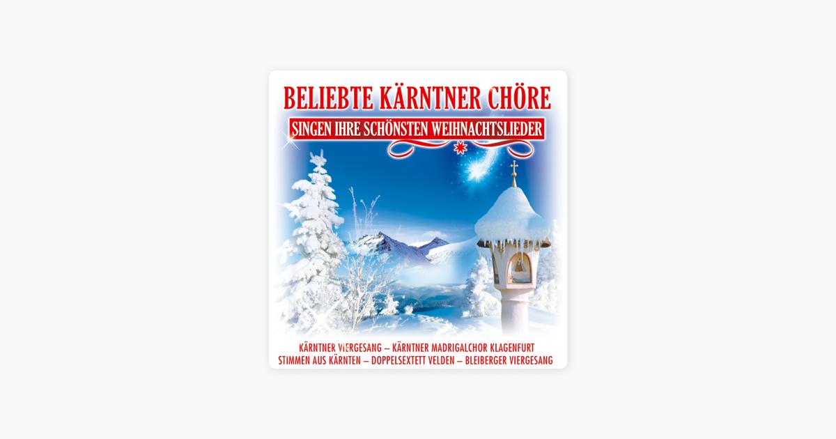 Chöre Singen Weihnachtslieder.Beliebte Kärntner Chöre Singen Ihre Schönsten Weihnachtslieder Von Verschiedene Interpreten