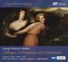 Handel: L'Allegro, Il Penseroso ed il Moderato, HWV 55 - Various Artists