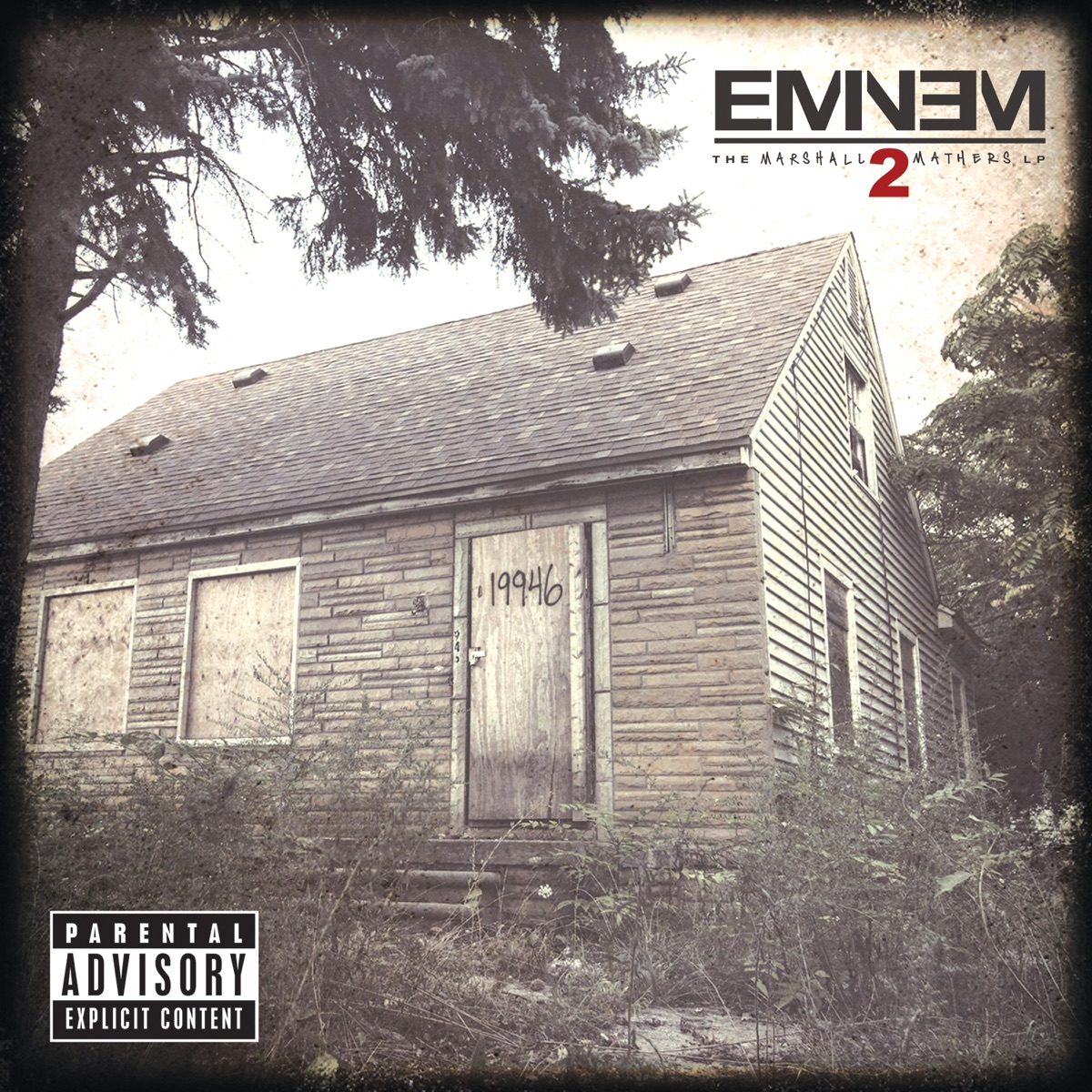 The Marshall Mathers LP2 Deluxe Eminem CD cover