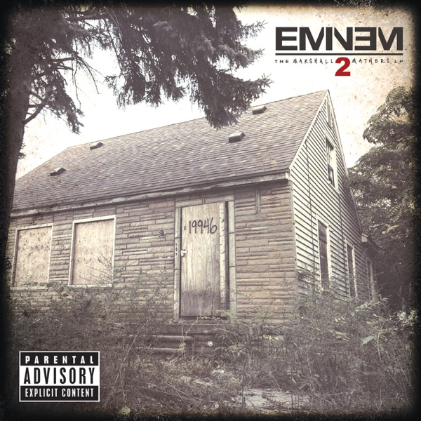 The Marshall Mathers LP2 (Deluxe) album image