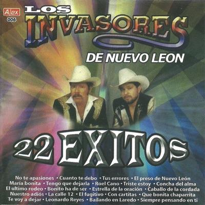 22 Éxitos - Los Invasores de Nuevo León