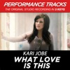 What Love Is This (Performance Tracks) - EP, Kari Jobe