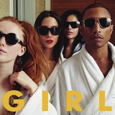 Pharrell Williams - G I R L постер