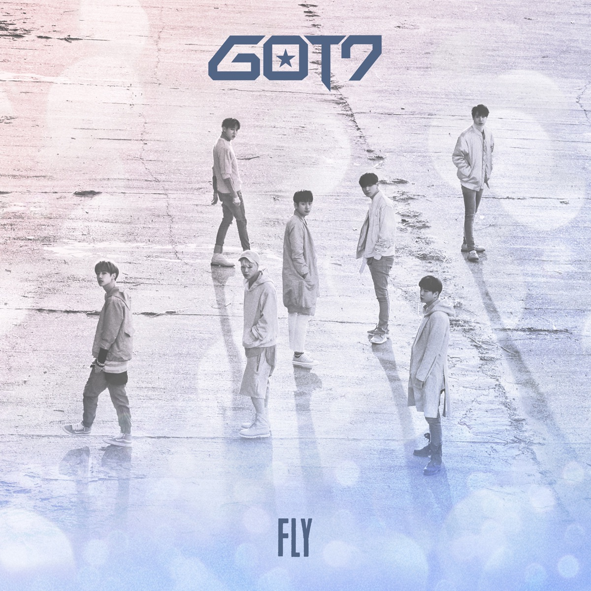 Fly GOT7 CD cover