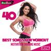 40 Best Songs for Workout 2016: Motivation Training Music - Various Artists
