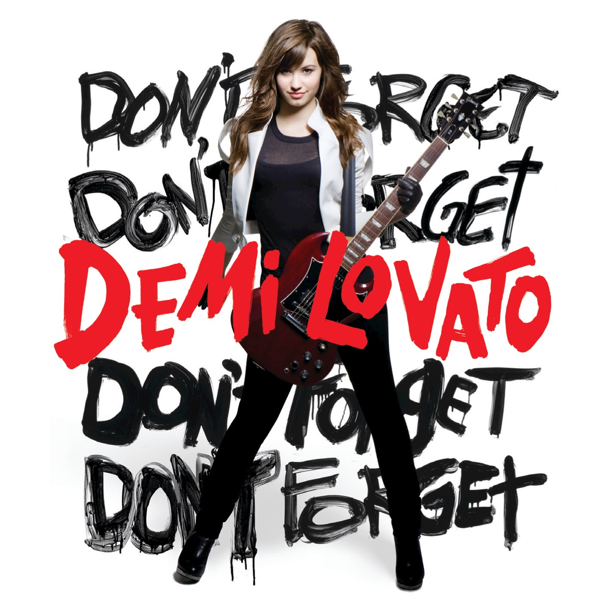 Dont Forget Demi Lovato CD cover