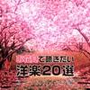 お花見で聴きたい洋楽20選~アコースティック編 ジャケット写真