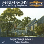 English String Orchestra & William Boughton - String Symphony No. 3 in E Minor, MWV N3: III. Allegro
