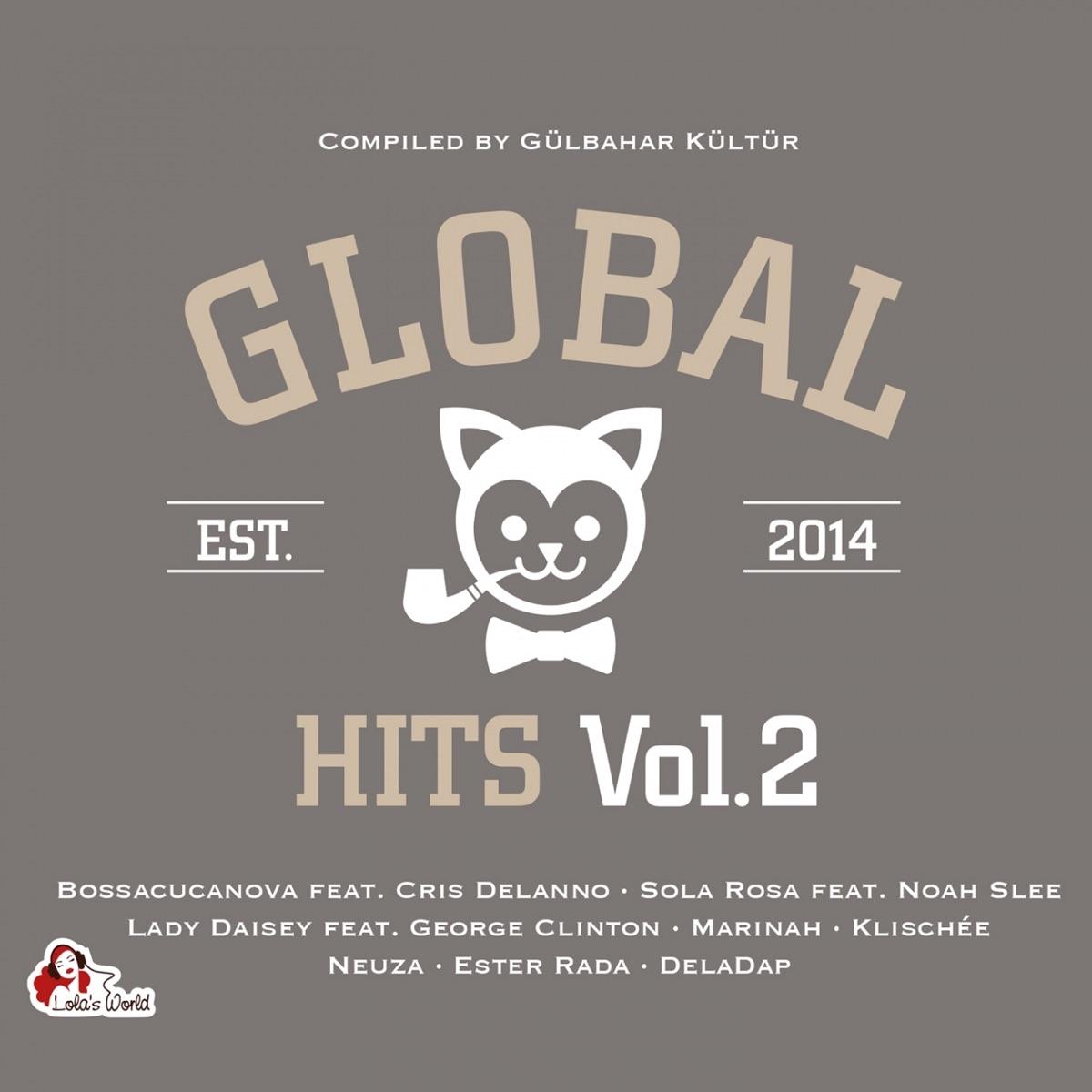 global hits, vol. 2 album cover by gülbahar kültür