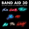 Band Aid 30 - Do They Know It's Christmas? (2014) artwork