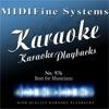 Best for Musicians No. 976 (Karaoke Version)