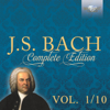 Various Artists - J.S. Bach: Complete Edition, Vol. 1/10 portada