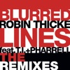 Blurred Lines feat T I Pharrell Williams The Remixes Single