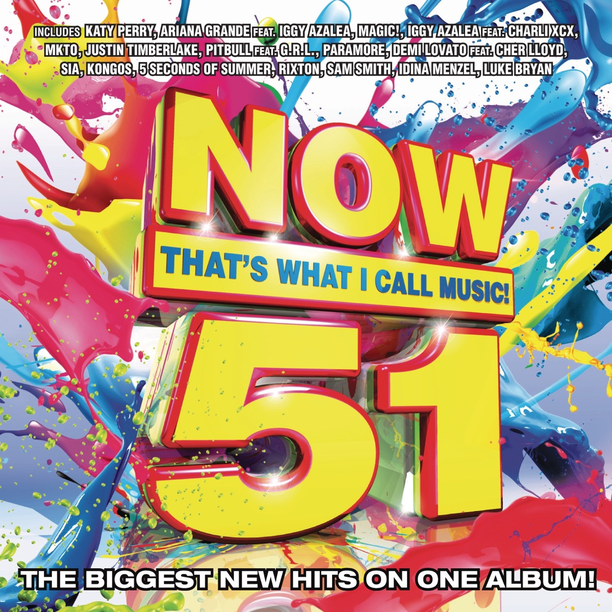 Now Thats What I Call Music Vol 51 Various Artists CD cover
