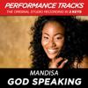 God Speaking - Mandisa
