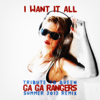 Ga Ga Rangers - I Want It All (Tribute to Queen) Summer 2013 Remix  arte