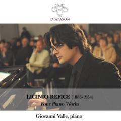 Licinio Refice: Four Piano Works - EP