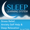 Joel Thielke - Stress Relief, Anxiety Self Help, And Deep Relaxation Guided Meditation and Affirmations: Sleep Learning System artwork