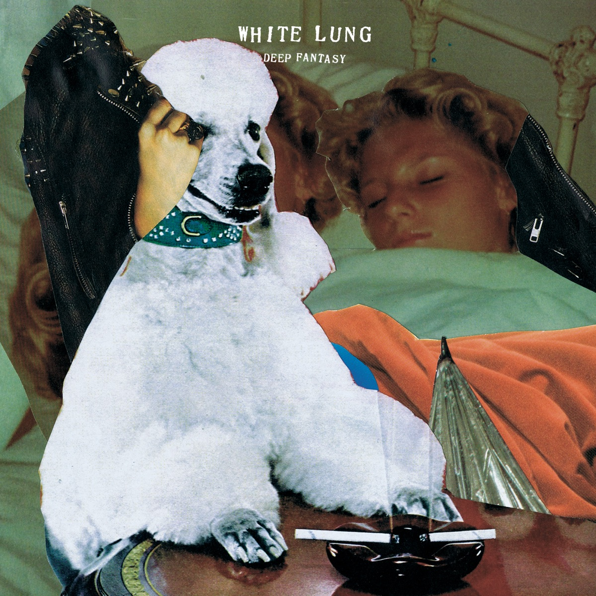 Deep Fantasy White Lung CD cover