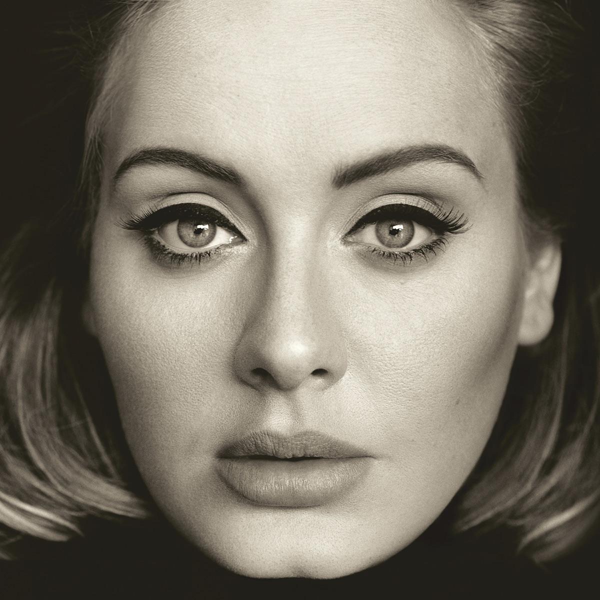 25 Adele CD cover