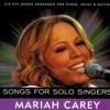 Mariah Carey Songs for Solo Singers (Karaoke) - EP