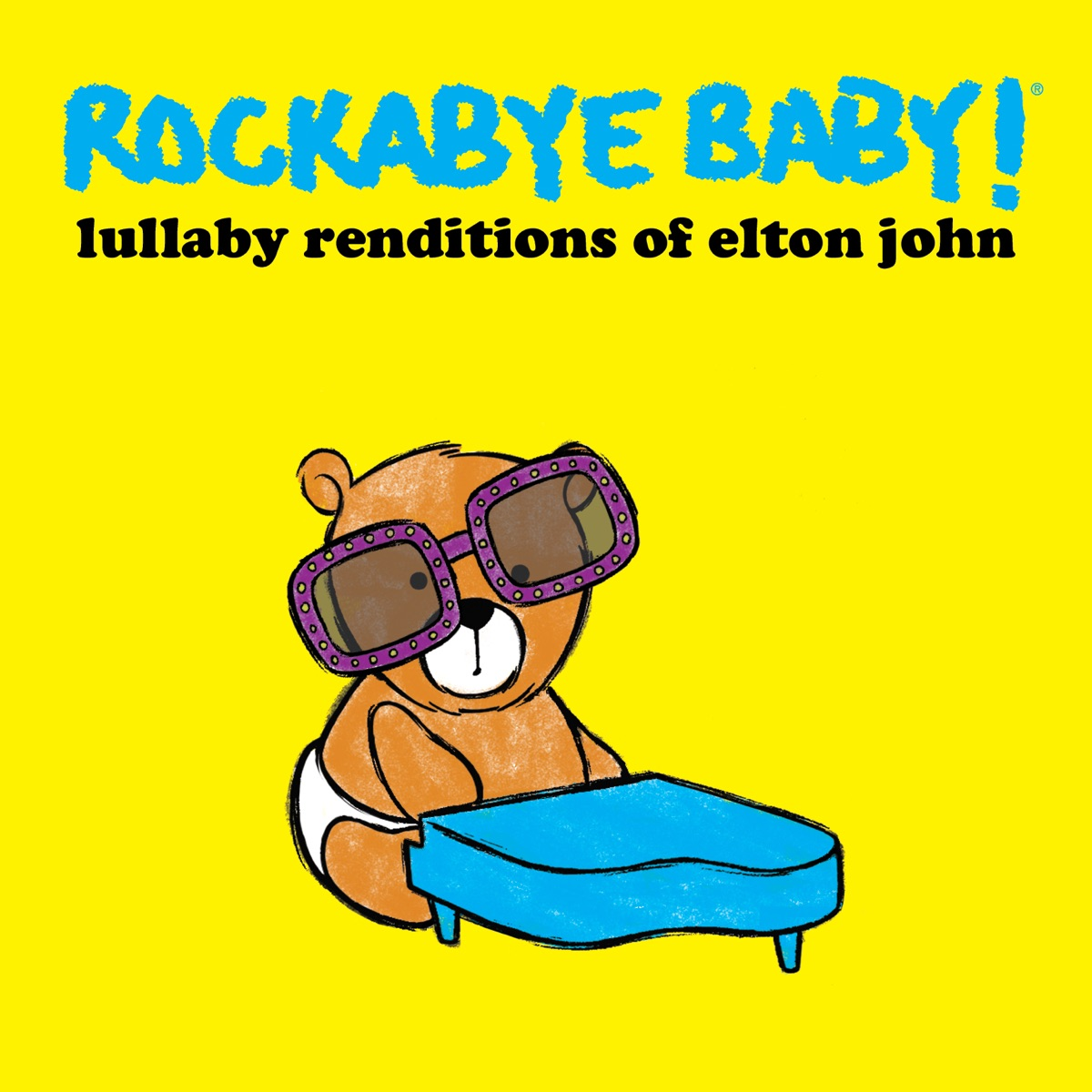 Lullaby Renditions of Elton John Rockabye Baby CD cover