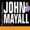 John Mayall - Mail Order Mystics (Live) artwork