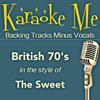 70's Hits (In the Style of Sweet) [Backing Tracks] - EP - Karaoke Backing Tracks Minus Vocals