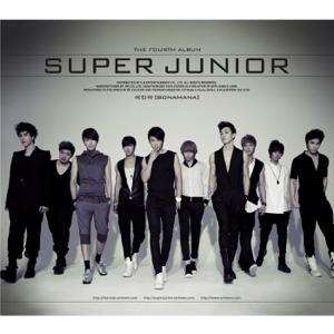 SUPER JUNIOR - The 4th Album -Bonamana (Repackaged)