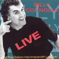 Billy Connolly - Live At the Odeon Hammersmith London artwork