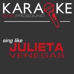 Me Voy (Originally Performed by Julieta Venegas) [Instrumental Version]