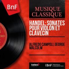 Handel: Sonates pour violon et clavecin (Mono Version)