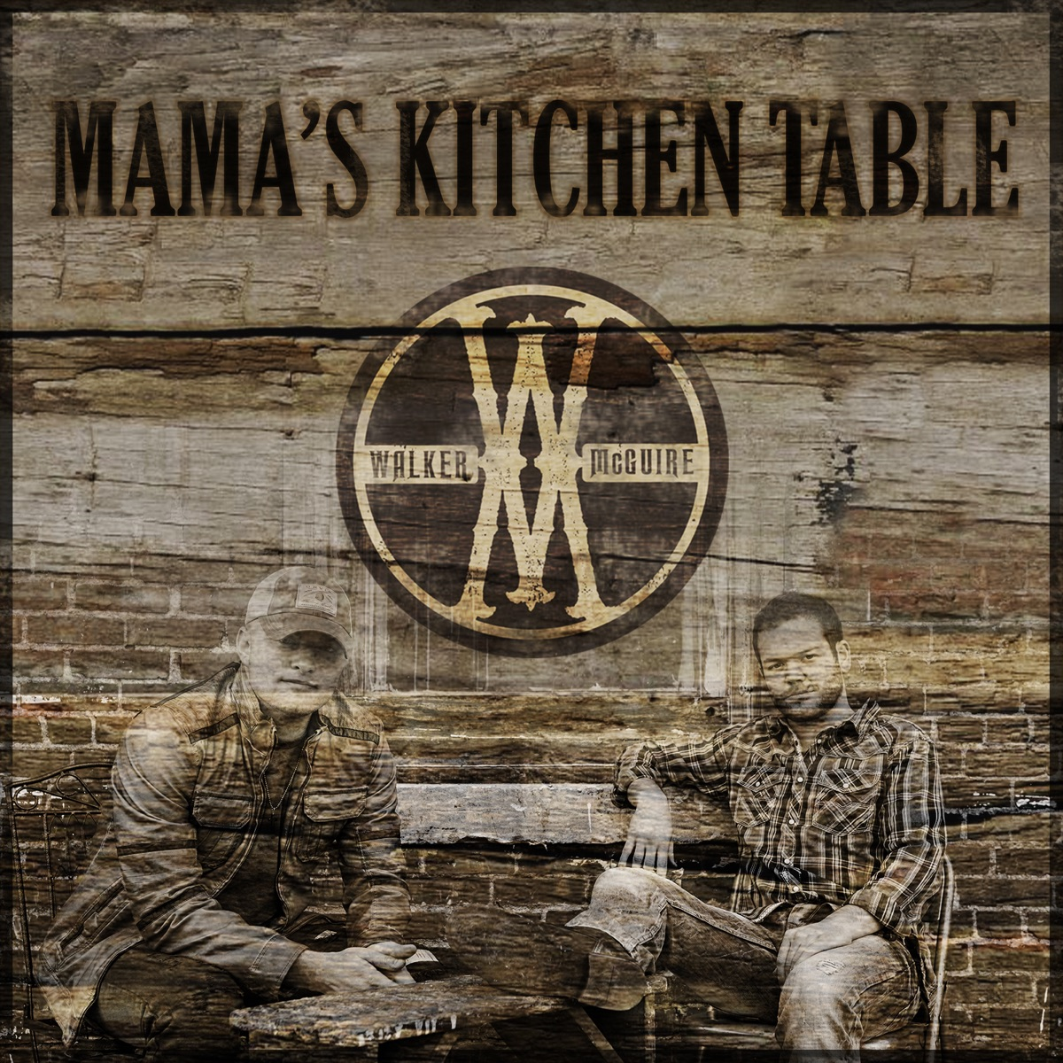 Mamas Kitchen Table - Single Walker McGuire CD cover