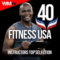 Various Artists - 40 Fitness USA Instructors Top Selection (Unmixed Compilation for Fitness & Workout 128 - 160 BPM - Ideal for Running, Jogging, Step, Aerobic, CrossFit, Cardio Dance, Gym, Spinning, HIIT - 32 Count)