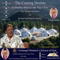 Buddha Maitreya the Yogi Christ - The Coming Destiny artwork