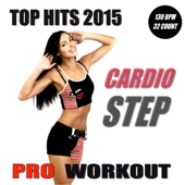 Top Hits 2015 - Cardio Step Workout (Non-Stop Mix 130 BPM - Ideal for Step, Cardio, Running, Gym, Cycling and General Fitness)