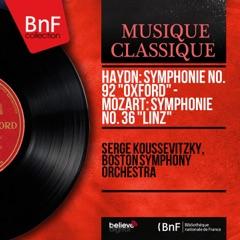"Haydn: Symphonie No. 92 ""Oxford"" - Mozart: Symphonie No. 36 ""Linz"" (Mono Version)"