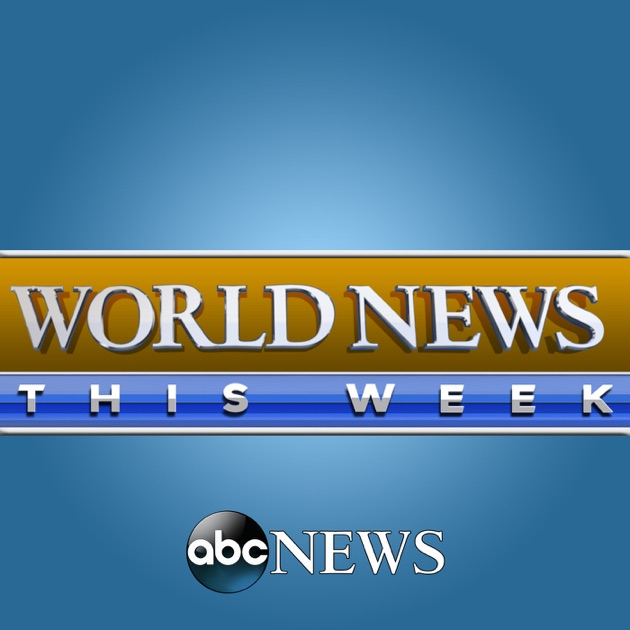 apple podcat内のabc news world news this week
