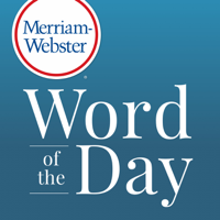 Podcast cover art for Merriam-Webster's Word of the Day