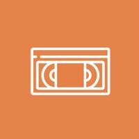 Orange VHS Tapes - Single