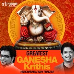Maha Ganapathim - Nata - Adi (Instrumental)