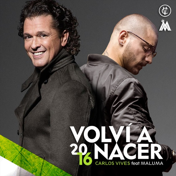 Volví a Nacer (feat. Maluma) - Single