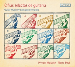 Cifras selectas de guitarra: Guitar Muic by Santiago de Murcia