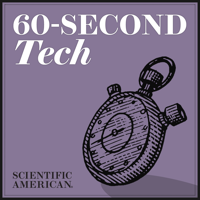 Podcast cover art for 60-Second Tech