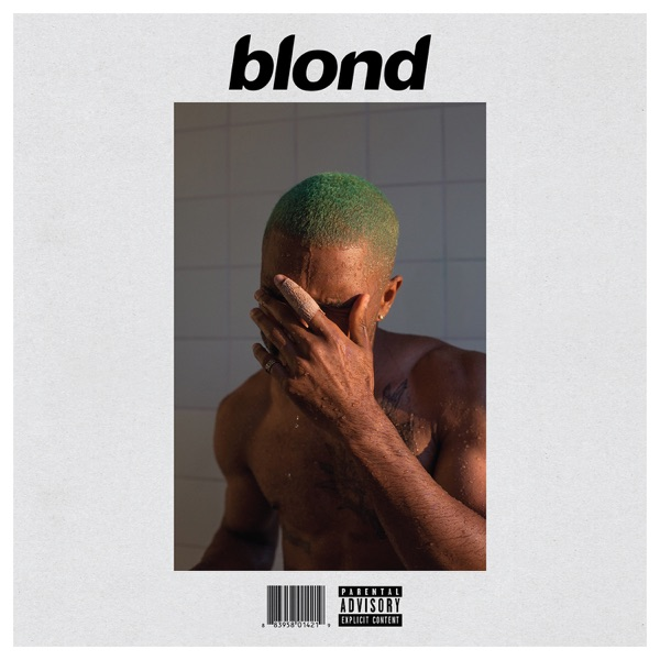 Blonde Frank Ocean album cover