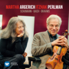 Itzhak Perlman & Martha Argerich - Schumann, Bach & Brahms: Music for Violin & Piano  artwork