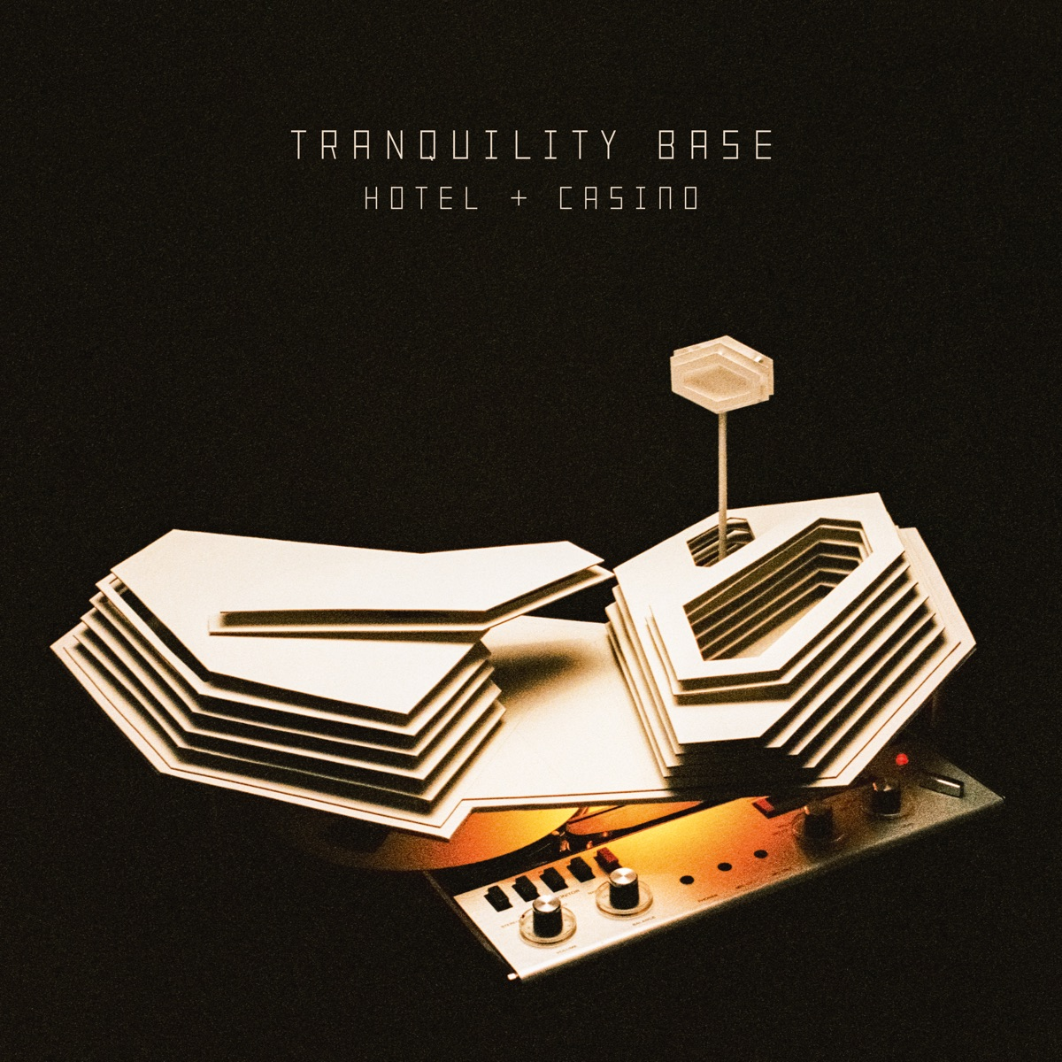 Tranquility Base Hotel  Casino Arctic Monkeys CD cover