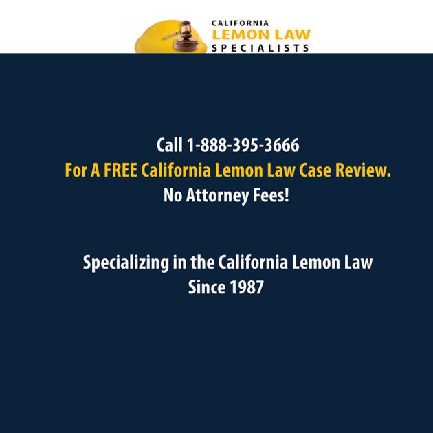 Lemon Law California >> California Lemon Law Podcast Episode 1 7 Steps To Lemon