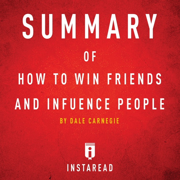 how to win friends pdf summary