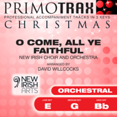 O Come All Ye Faithful (Medium Key - G - Orchestral Performance backing track)